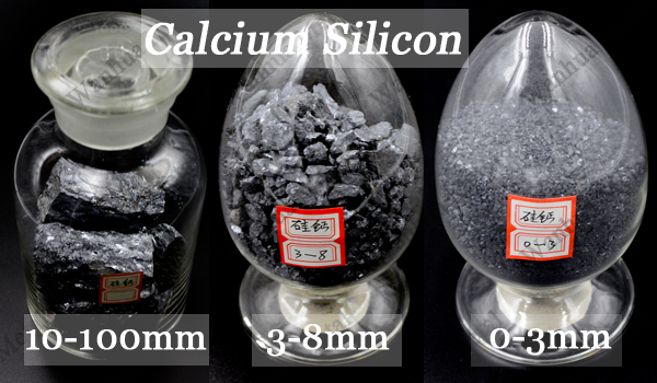 Calcium silicon lump and powder
