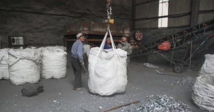 Calcium silicon use ton bags