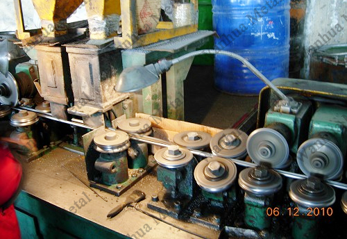 Cored wire manufacturing process