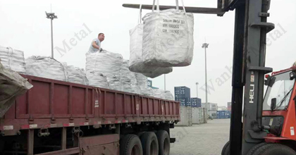 Calcium silicon minimum order is 20-24Mt
